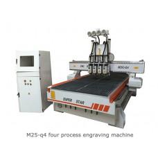 M25-q4 FOUR PROCESS ENGRAVING MACHINE